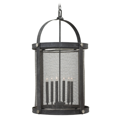 Hinkley Lighting Hinkley Lighting Holden Aged Zinc Pendant Light 3944DZ