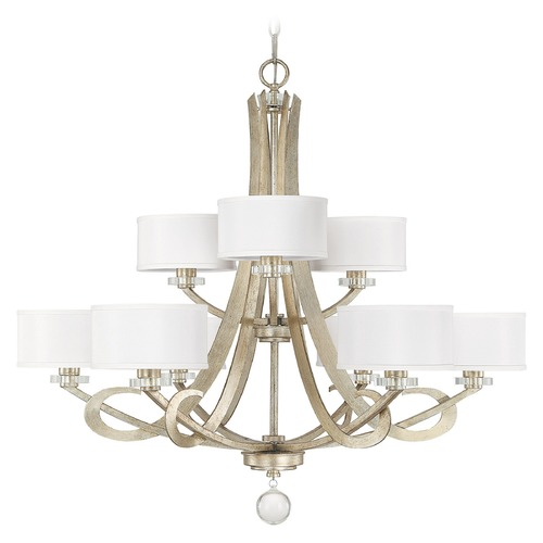 Capital Lighting Capital Lighting Hutton Winter Gold Chandelier 4269WG-552