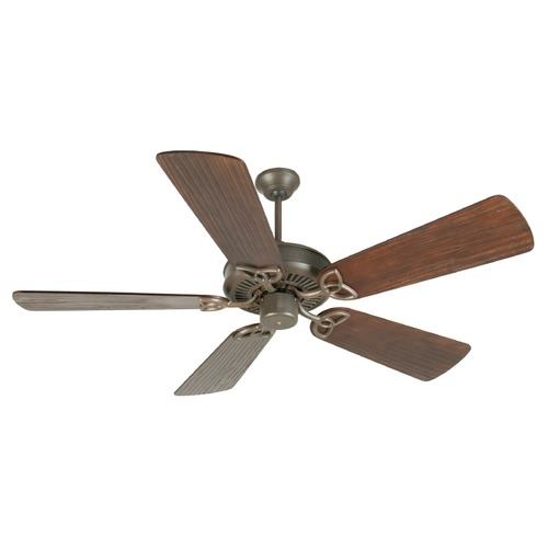 Craftmade Lighting Craftmade Lighting Cxl Aged Bronze Textured Ceiling Fan Without Light K10933
