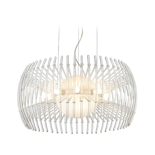 Golden Lighting Golden Lighting Terra Chrome Chandelier C180-L-WH