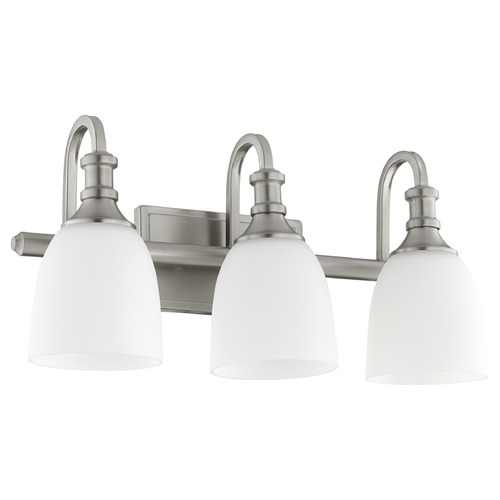 Quorum Lighting Quorum Lighting Richmond Satin Nickel Bathroom Light 5011-3-65
