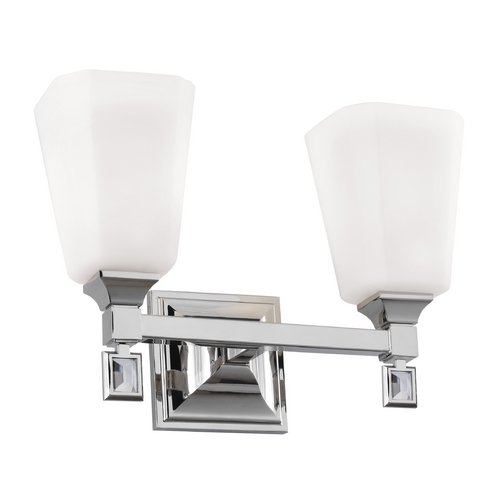 Feiss Lighting Feiss Lighting Sophie Polished Nickel Bathroom Light VS47002-PN