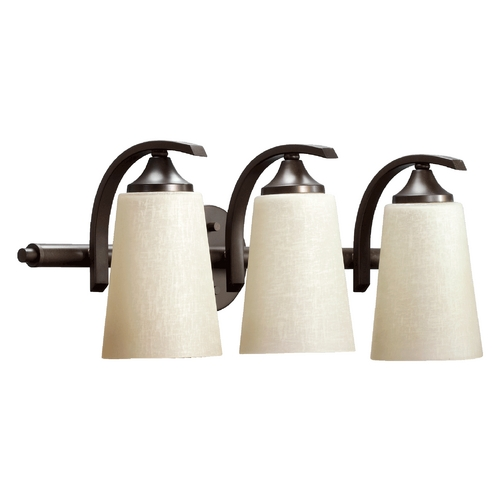 Quorum Lighting Quorum Lighting Winslet Ii Oiled Bronze Bathroom Light 5129-3-186