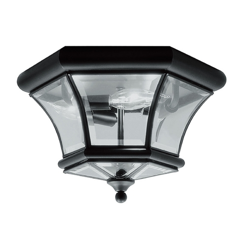 Livex Lighting Livex Lighting Monterey/georgetown Black Flushmount Light 7053-04