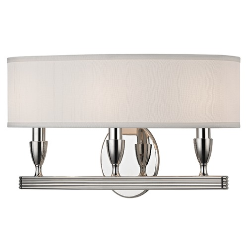 Hudson Valley Lighting Bancroft 3 Light Sconce - Polished Nickel 4543-PN