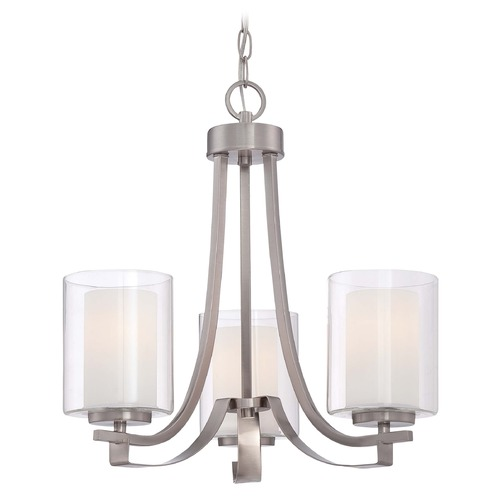 Minka Lavery Minka Parsons Studio Brushed Nickel Mini-Chandelier 4103-84