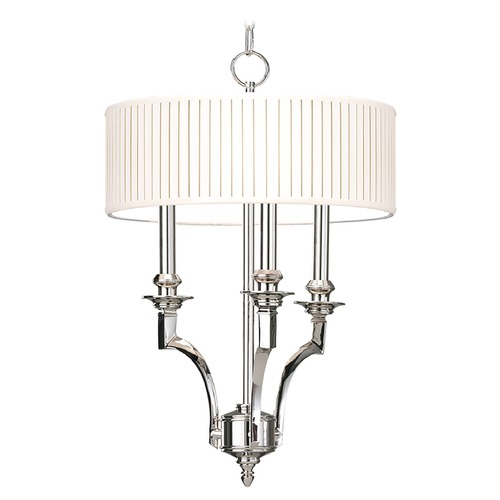 Hudson Valley Lighting Hudson Valley Lighting Mercer Old Bronze Pendant Light with Drum Shade 7913-OB