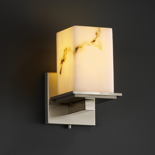 Justice Design Group Justice Design Group Lumenaria Collection Sconce FAL-8671-15-NCKL