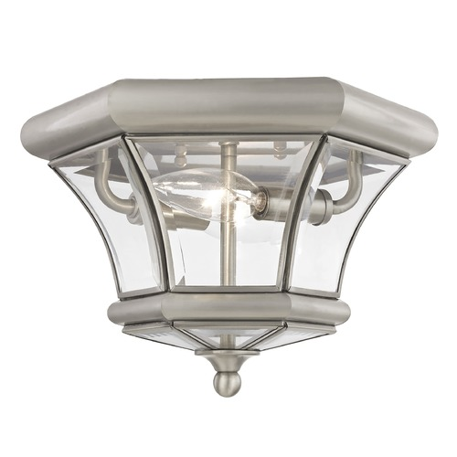 Livex Lighting Livex Lighting Monterey/georgetown Brushed Nickel Flushmount Light 7052-91