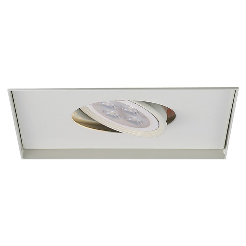 WAC Lighting Wac Lighting Mr16 Mult White LED Recessed Trim MT-116LEDTL-WT