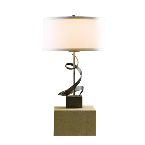 Hubbardton Forge Lighting Hubbardton Forge Lighting Gallery Dark Smoke Table Lamp  273030-07-423