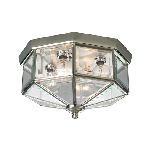 Progress Lighting Progress Outdoor Ceiling Light with Clear Glass P5789-09