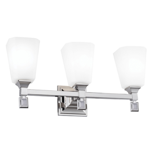 Feiss Lighting Feiss Lighting Sophie Polished Nickel Bathroom Light VS47003-PN