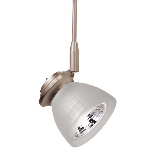 WAC Lighting Wac Lighting Americana Collection Brushed Nickel Track Light Head QF-187X3-BN