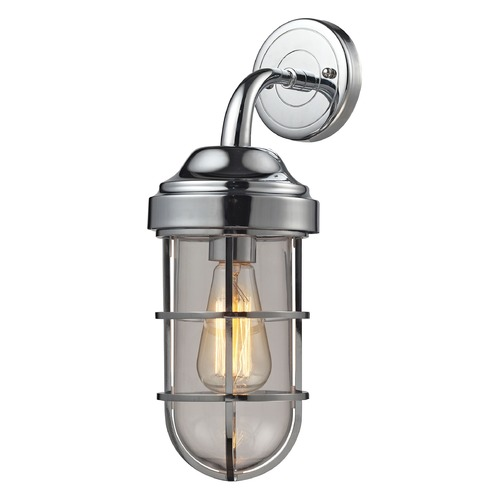 Elk Lighting Elk Lighting Seaport Polished Chrome Sconce 66345/1