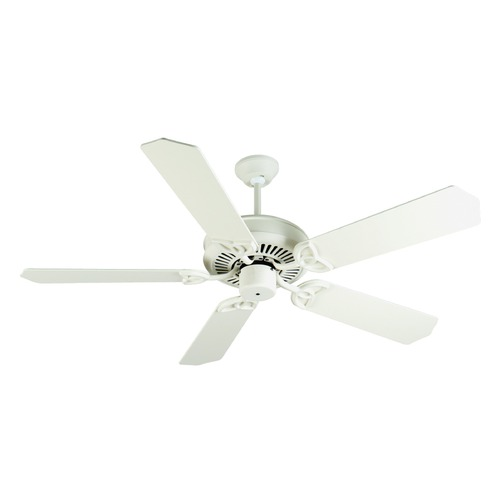 Craftmade Lighting Craftmade Lighting Cxl Antique White Ceiling Fan Without Light K10936