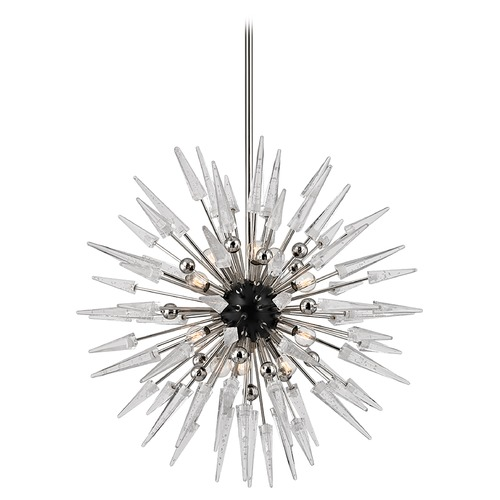 Hudson Valley Lighting Hudson Valley Lighting Sparta Polished Nickel Chandelier 9032-PN