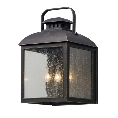 Troy Lighting Troy Lighting Chamberlain Vintage Bronze LED Outdoor Wall Light BL5083