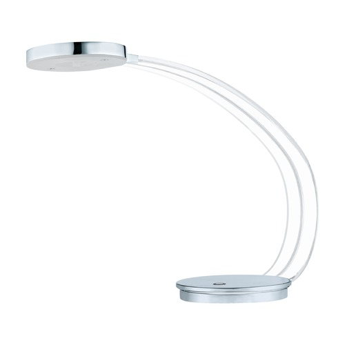 Eglo Lighting Eglo Tartini Chrome LED Desk Lamp 92257A