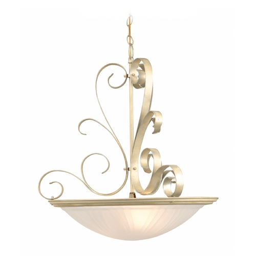 Lite Source Lighting Lite Source Lighting Variance Pearl Semi-Flushmount Light LS-1053PEARL