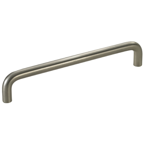 Seattle Hardware Co Satin Nickel Cabinet Pull - 6-1/4-inch Center to Center HW5-634-09