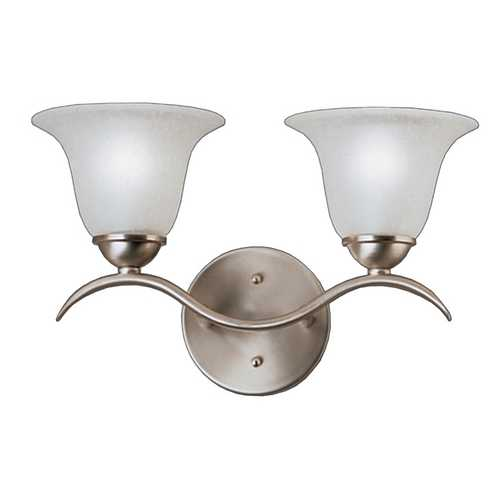 Kichler Lighting Kichler Bathroom Light in Brushed Nickel Finish 6322NI