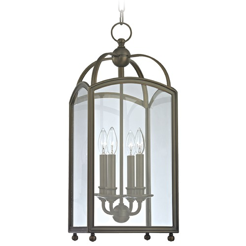 Hudson Valley Lighting Millbrook 4 Light Mini-Pendant Light Square Shade - Distressed Bronze 8410-DB