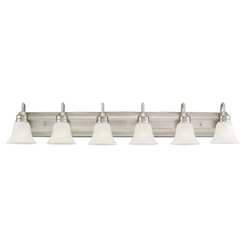 Sea Gull Lighting Sea Gull Lighting Gladstone Antique Brushed Nickel Bathroom Light 44855-965