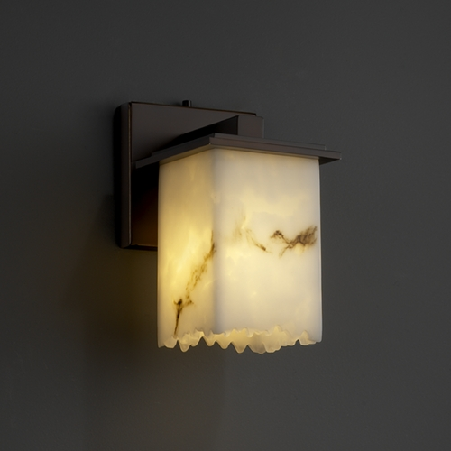 Justice Design Group Justice Design Group Lumenaria Collection Sconce FAL-8671-17-DBRZ