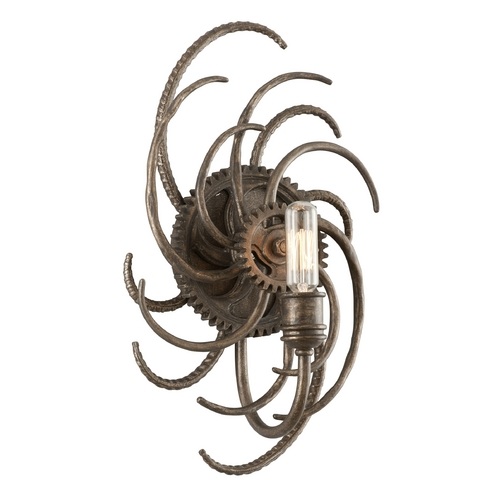 Troy Lighting Sconce Wall Light in Revolution Bronze Finish B3671