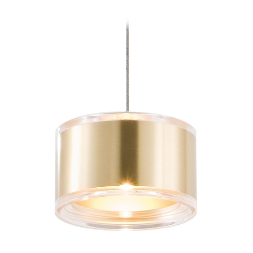 Holtkoetter Lighting Holtkoetter Modern Low Voltage Mini-Pendant Light C8120 S006 GB60 BB
