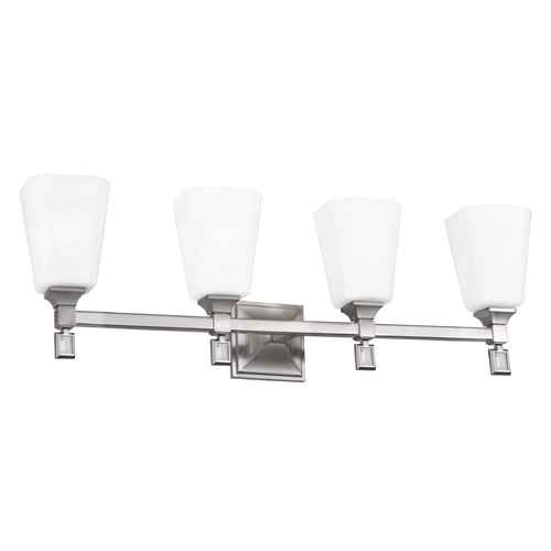 Feiss Lighting Feiss Lighting Sophie Brushed Steel Bathroom Light VS47004-BS