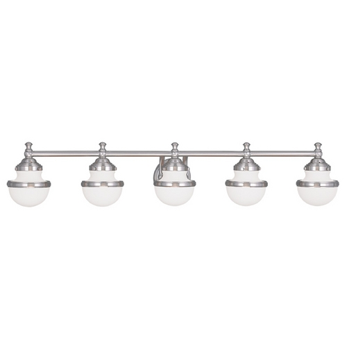 Livex Lighting Livex Lighting Oldwick Brushed Nickel Bathroom Light 5715-91