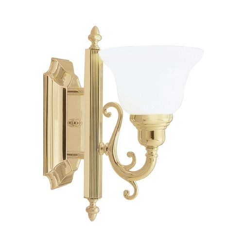 Livex Lighting Livex Lighting French Regency Polished Brass Sconce 1281-02
