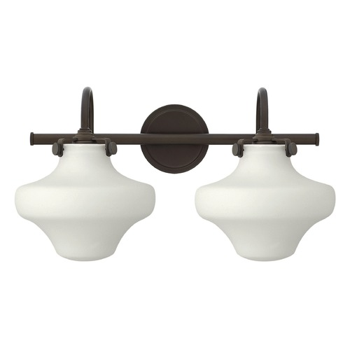 Hinkley Lighting Hinkley Lighting Congress Oil Rubbed Bronze Bathroom Light 50025OZ