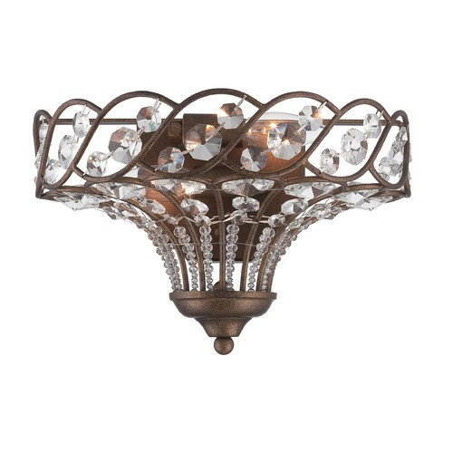 Lite Source Lighting Lite Source Vevina Mocha Sconce C71333-W