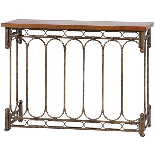 Uttermost Lighting Uttermost Harbin Metal Console Table 24405