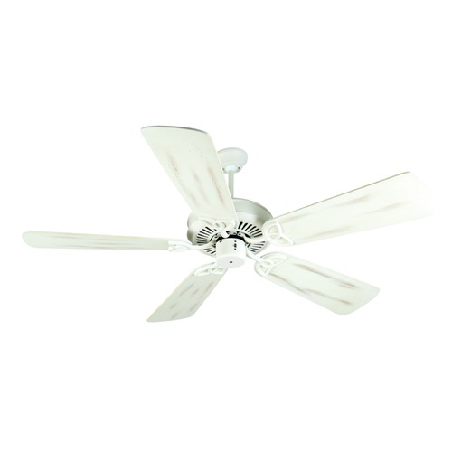 Craftmade Lighting Craftmade Lighting Cxl Antique White Ceiling Fan Without Light K10939