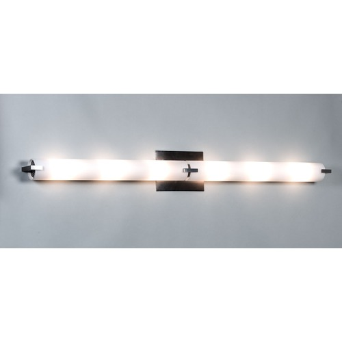 Illuminating Experiences Elf Plus Chrome Bathroom Light - Vertical or Horizontal Mounting ELFPLUS3CH