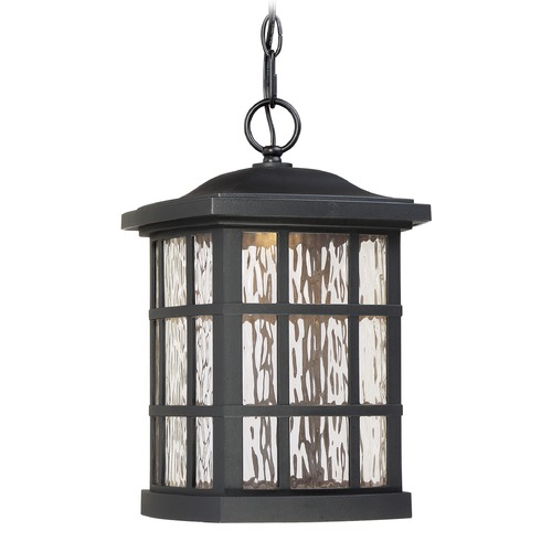 Quoizel Lighting Quoizel Lighting Stonington LED Matte Black Outdoor Hanging Light SNNL1909K