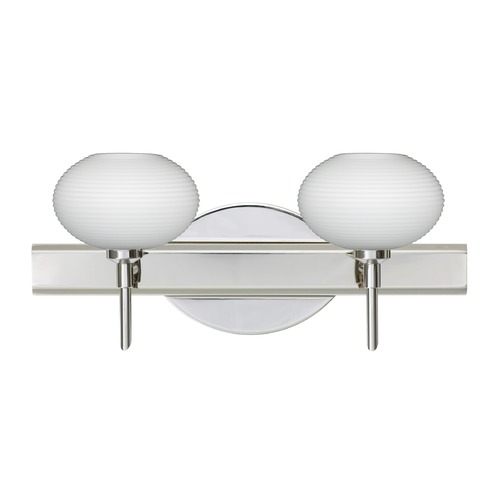 Besa Lighting Besa Lighting Lasso Chrome LED Bathroom Light 2SW-561207-LED-CR