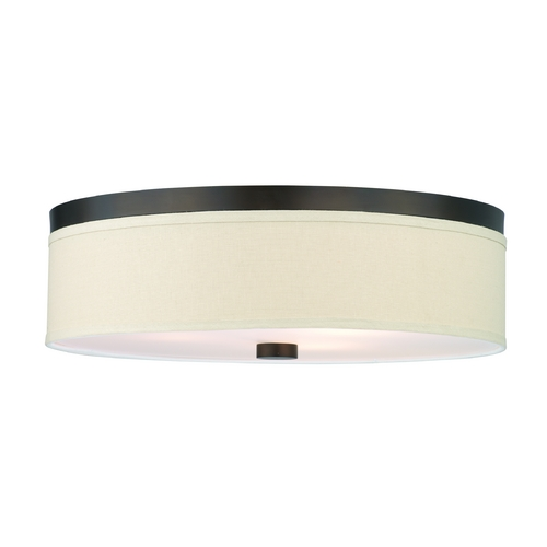 Philips Lighting Modern Flushmount Lights in Sorrel Bronze Finish F131920