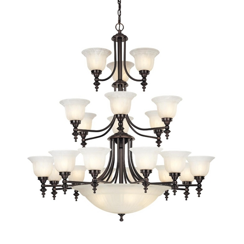 Dolan Designs Lighting Twenty-Four Light Chandelier 663-30