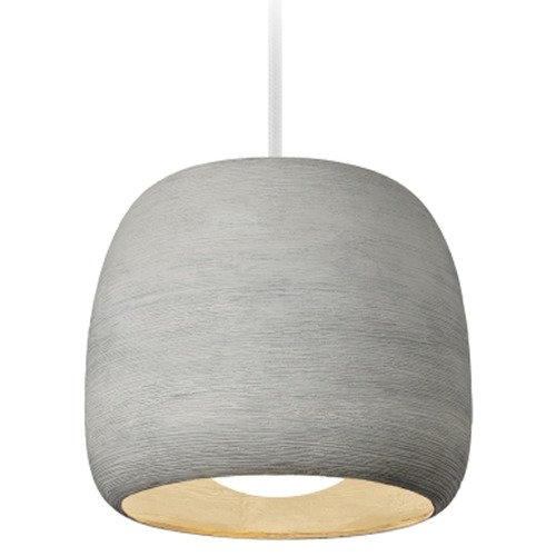 Tech Lighting Karam Concrete Pendant 700TDKRMPSCW-LED827