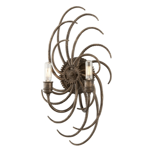 Troy Lighting Sconce Wall Light in Revolution Bronze Finish B3672