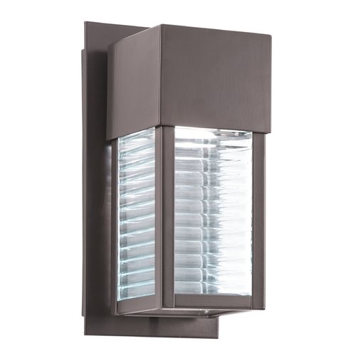 Kichler Lighting Kichler Lighting Sorel Architectural Bronze LED Outdoor Wall Light 49117AZLED