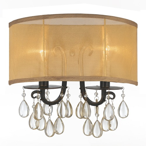 Crystorama Lighting Crystorama Lighting Hampton English Bronze Sconce 5622-EB