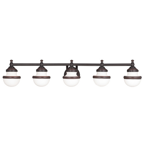 Livex Lighting Livex Lighting Oldwick Olde Bronze Bathroom Light 5715-67
