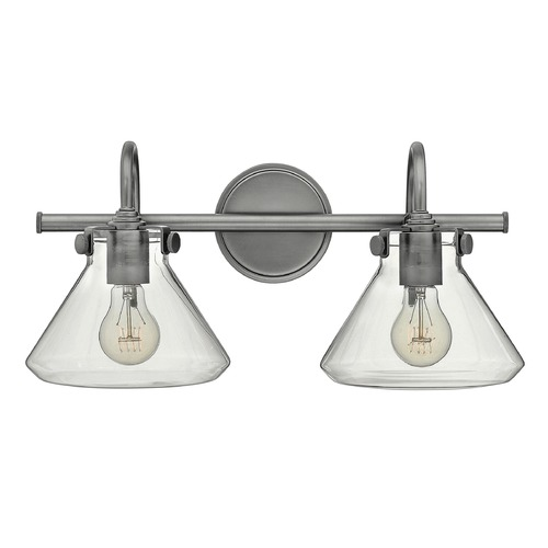 Hinkley Lighting Hinkley Lighting Congress Antique Nickel Bathroom Light 50026AN