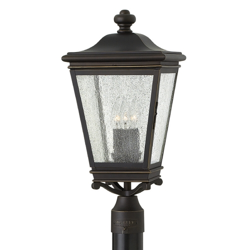 Hinkley Lighting Hinkley Lighting Lincoln Oil Rubbed Bronze Post Light 2461OZ
